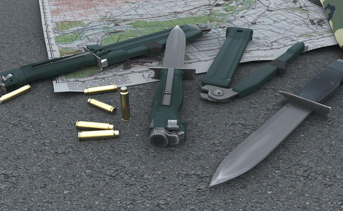 Разящая сталь: боевые ножи русского спецназа
