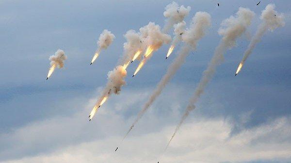 Российские военные накрыли место встречи французов и боевиков
