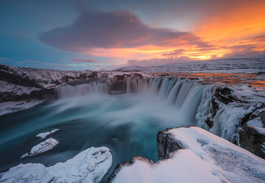 Обворожительная зимняя Исландия