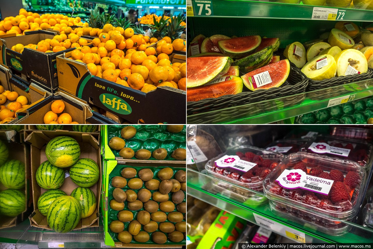 Почему россияне ездят за продуктами в Финляндию? У нас, что есть не чего?