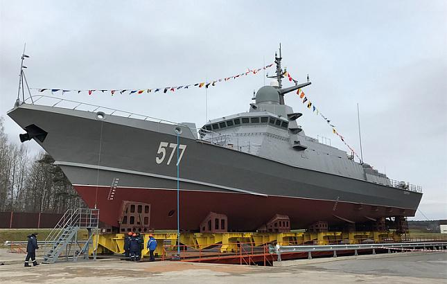 Адмирал: Ракетоносец «Шквал» заставит мир считаться с Россией