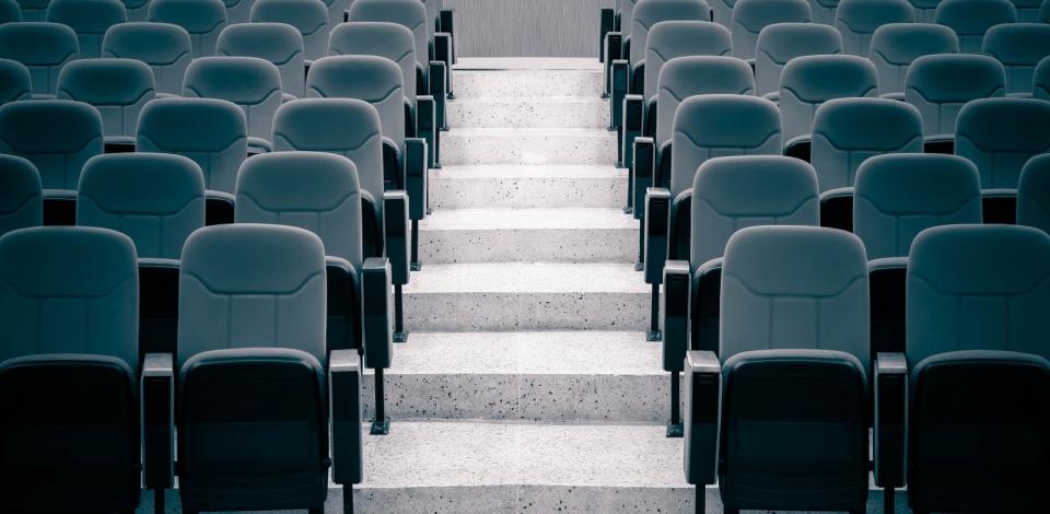 Строительство сцены театра «…