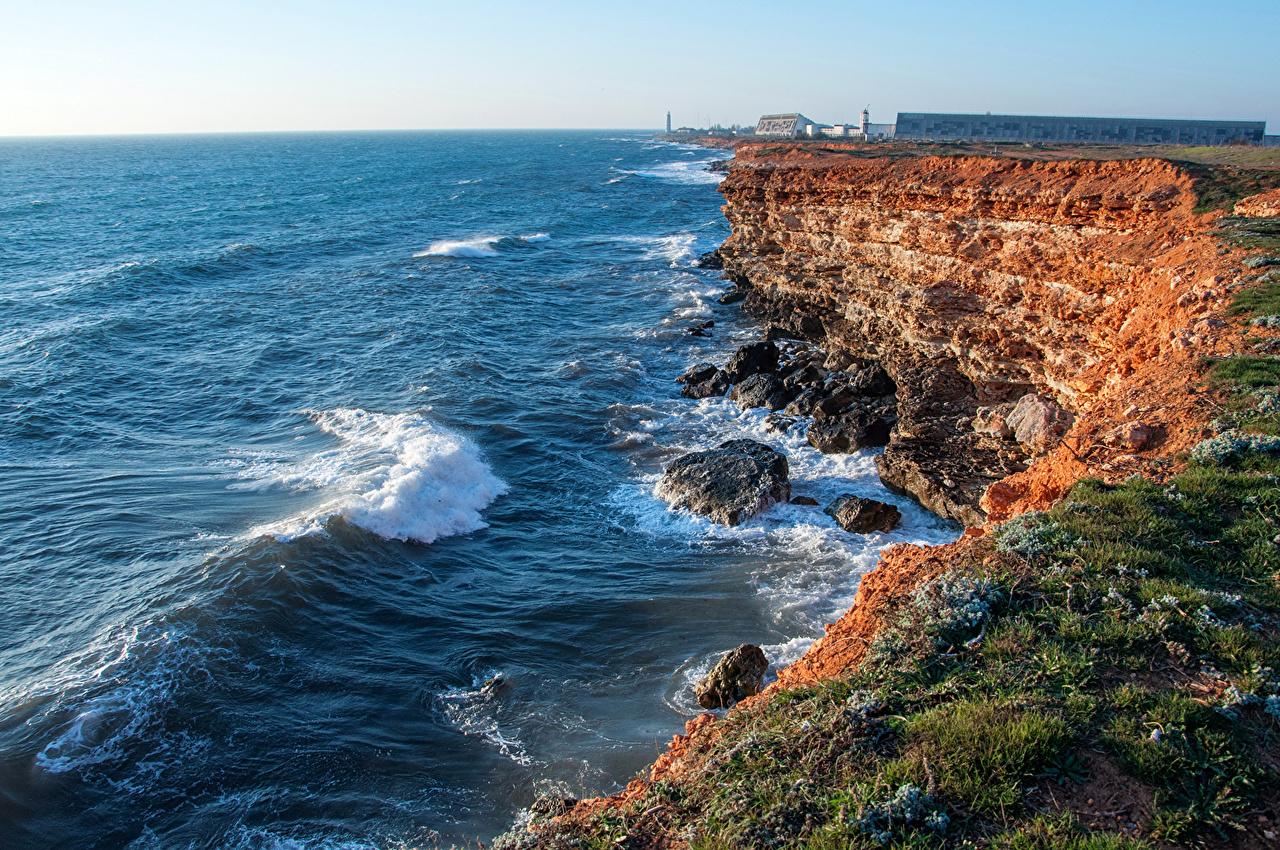 фото побережья крыма евпатория