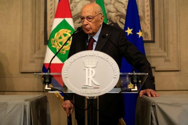 Бывшему президенту Италии сделали срочную операцию на сердце