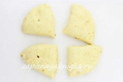 Тесто на дрожжах без яиц для куличей краффинов