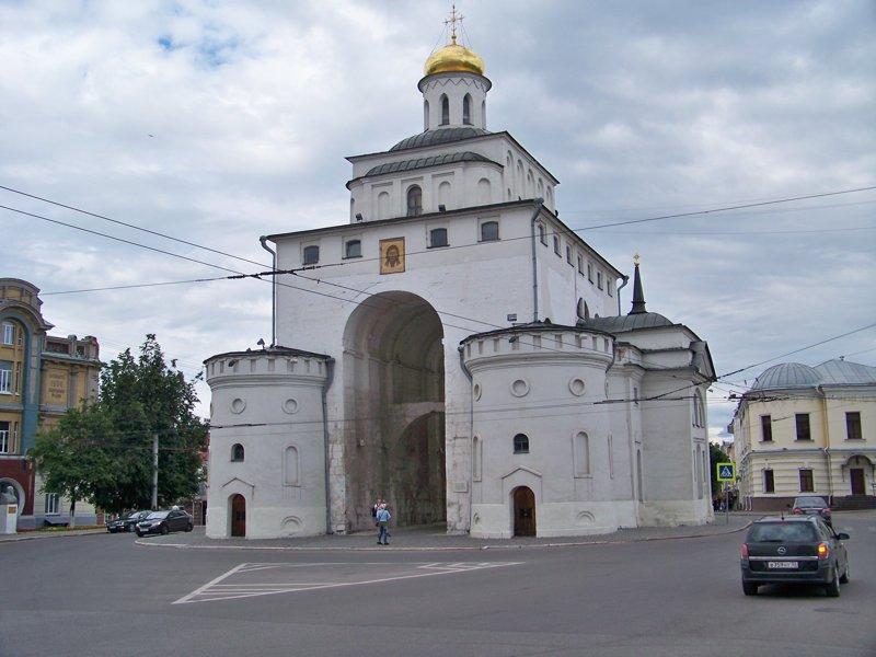 Единственные древние городские ворота сохранившиеся в России Города России, владимир, владимирская область, красивые места, пейзажи, путешествия, россия