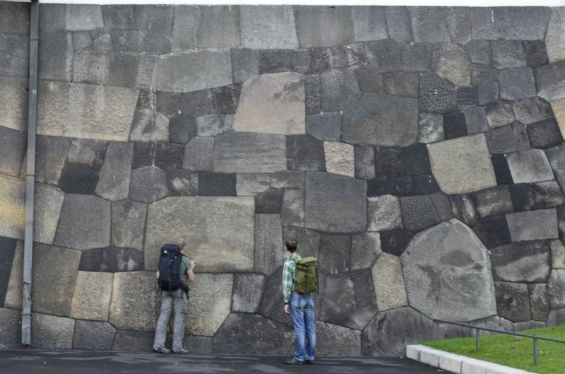 Резиденция императора Японии - укладка поражает загадки, интересное, камни, мегалиты, факты, цивилизации