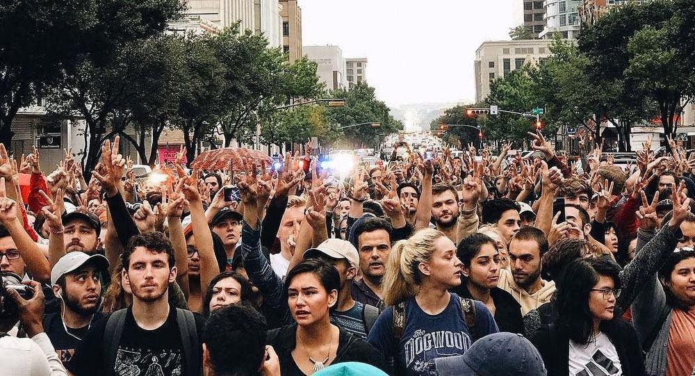 Как Сорос организовывает митинги против Трампа