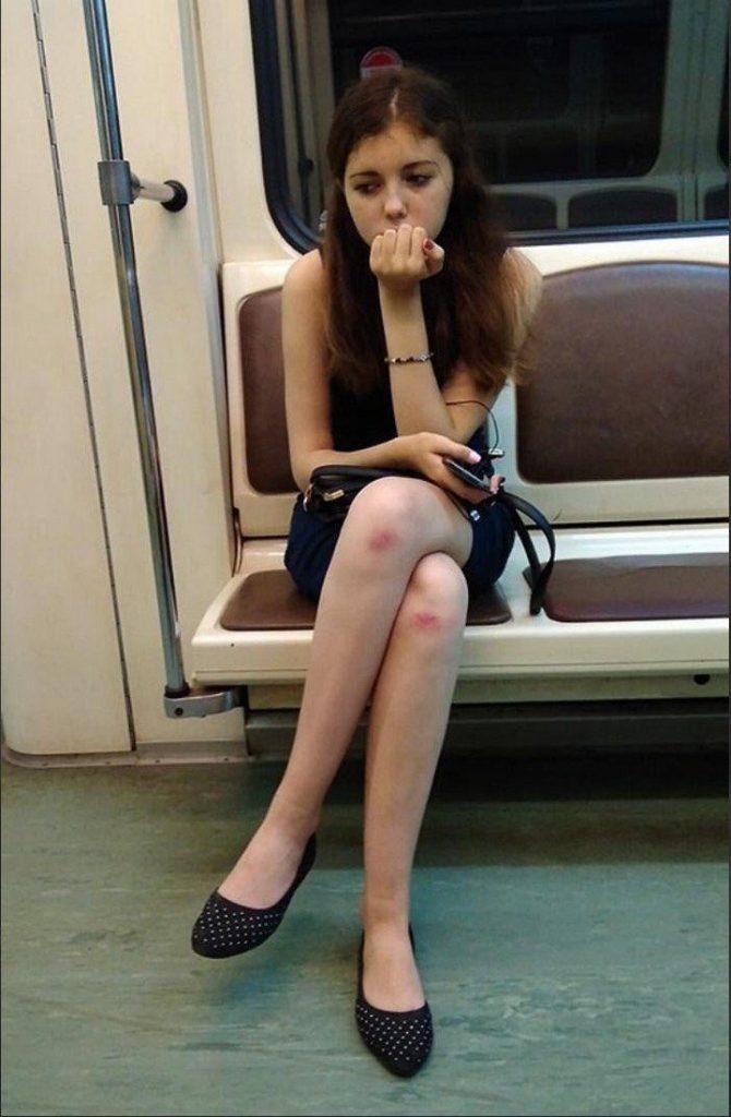 11 странных ситуаций в метро