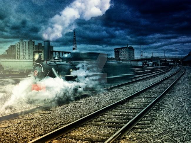 Призрачный паровоз