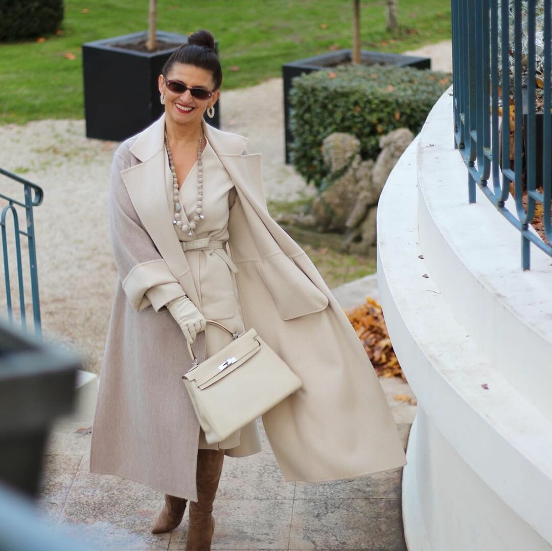 @gasparovic.gordana / Сумки в стиле Hermes можно найти у брендов разного ценового сегмента. /Фото: instagram.com