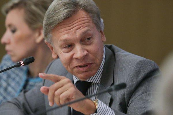 Пушков ответил стихами на планы Киева расширить вещание в Крыму