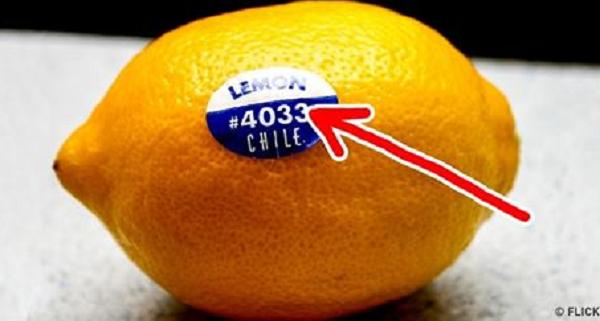 Зачем нужны наклейки на фруктах