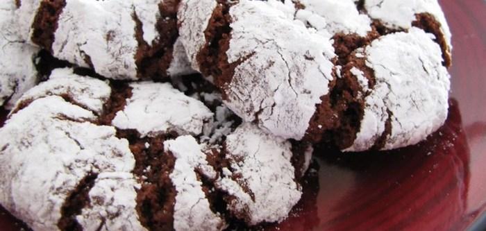 Шоколадное печенье «Crinkles» Рецепт, Еда, Кулинария, Печенье, Шоколадное печенье, Длиннопост