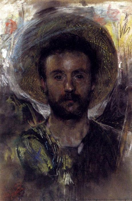 Итальянский художник Антонио Манчини (Antonio Mancini)