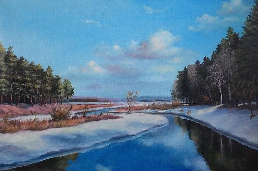 Зимние пейзажи Игоря Лобовича