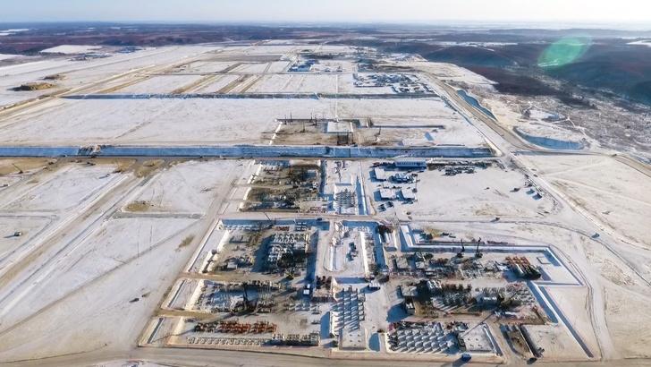 Cтроительство Амурского газоперерабатывающего завода