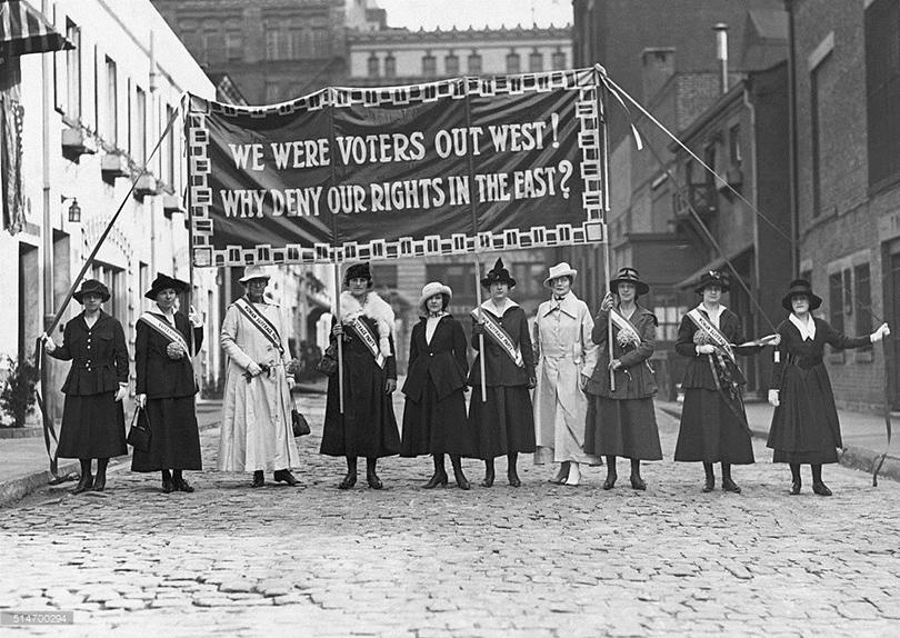 Самые отчаянные феминистки в истории