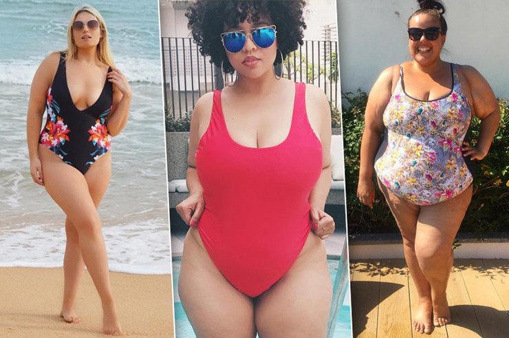 Большая мода: 15 пляжных образов от plus-size блогеров