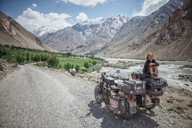 Ваханский коридор, Таджикистан монголия, мотоцикл, мотоцикл с коляской, мотоцикл урал, путешественники, путешествие, средняя азия, туризм