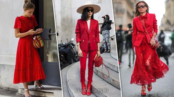 6 шикарных способов эффектно выглядеть в красном