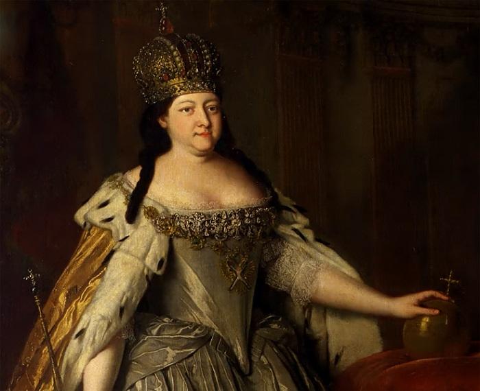 Портрет императрицы Анны Иоанновны. Луи Каравакк, 1730 год.  | Фото: artclassic.edu.ru.
