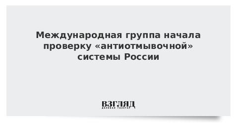 Международная группа начала проверку «антиотмывочной» системы России