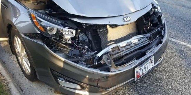 Седан Volvo из 1980-х уцелел в ДТП, а современная Kia — нет