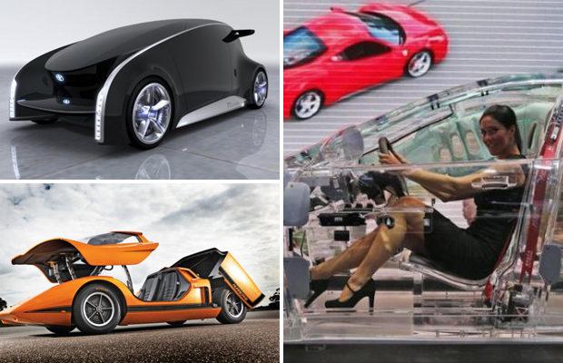 Самые необычные автомобили р…