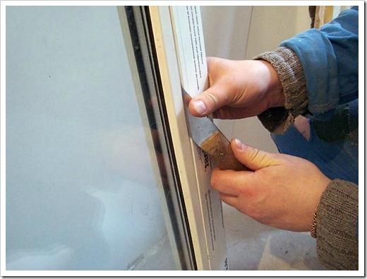 Замена стеклопакета на пластиковых окнах
