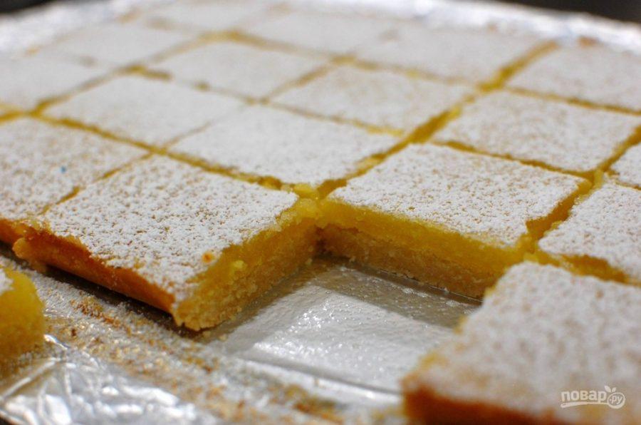 Очень лимонный пирог