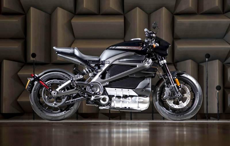 Harley-Davidson уже не тот: показан первый электромотоцикл