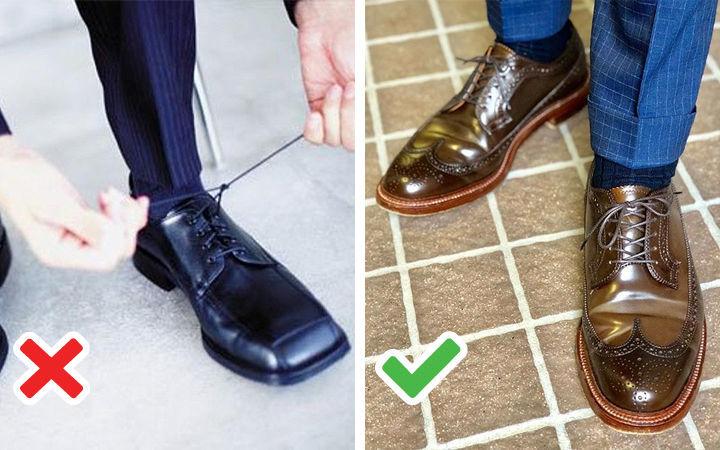 Черные туфли с квадратным носом - фото