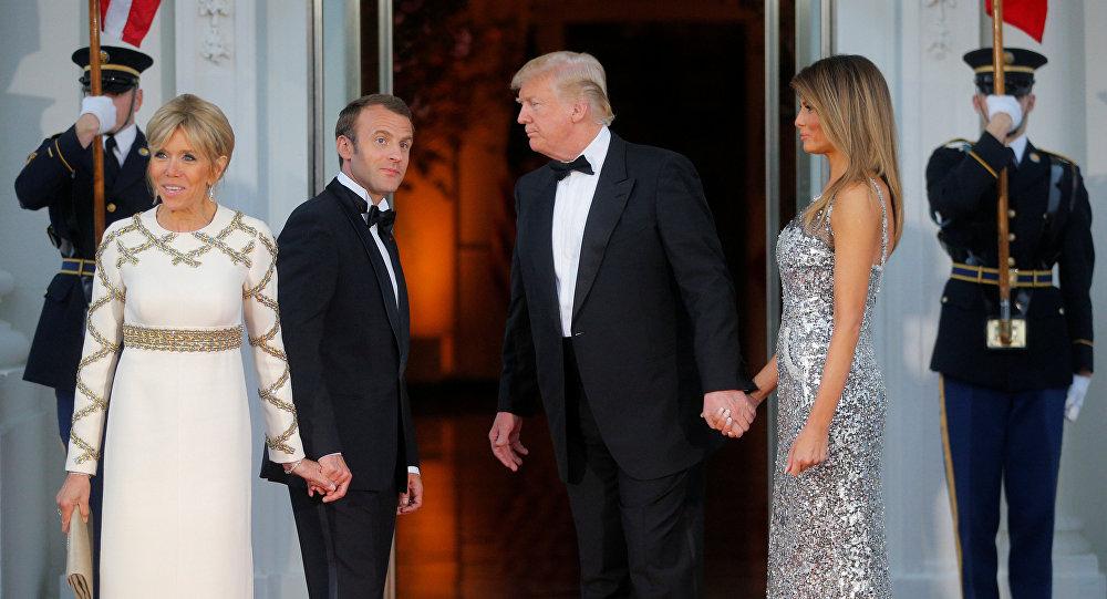 """Трамп, """"микрон"""" и канцлерин."""