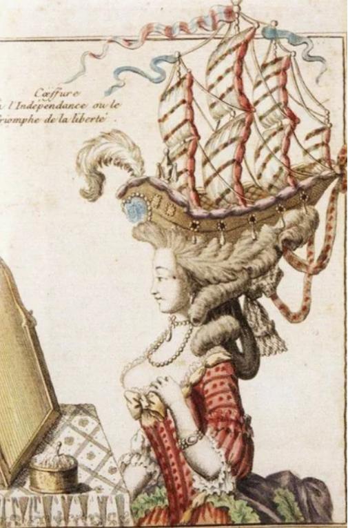 Как делали высокие прически 18 столетия: мифы и правда