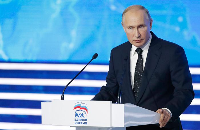 Власть — это не удовольствие пребывания в креслах. Путин раскритиковал «Единую Россию»