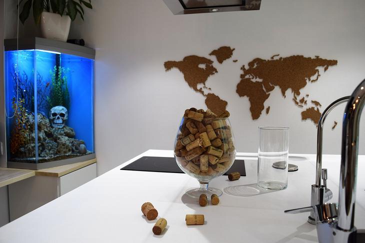 Фотография: Декор в стиле Современный, Эклектика, Квартира, Проект недели, Москва, Наталия Ливенцова, 2 комнаты, 40-60 метров, Монолитно-кирпичный – фото на InMyRoom.ru
