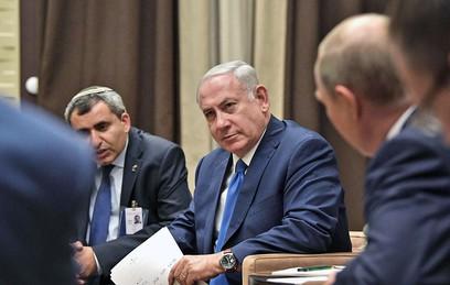 Путин обсудил с Нетаньяху удары Израиля по авиабазе в Сирии