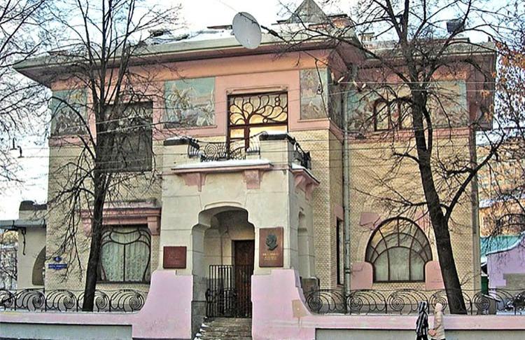 если 30 особняк рябушинского в москве шехтель 1900-1902 кабинет военнослужащего: