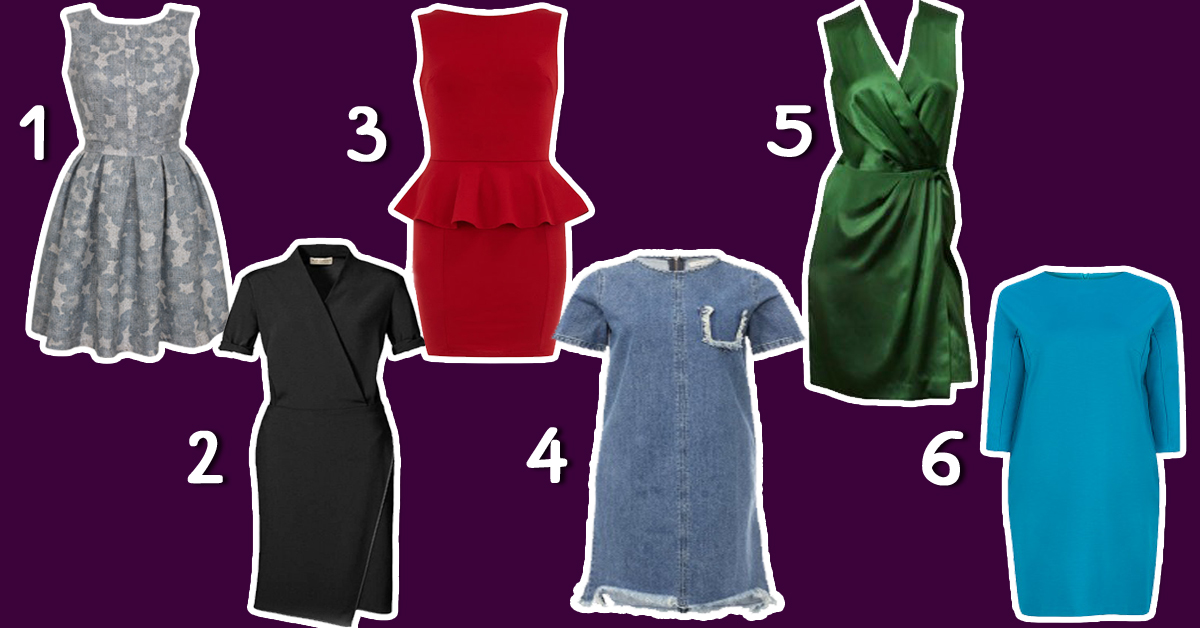 Выберите платье и узнайте, какая вы женщина и что думают о вас мужчины