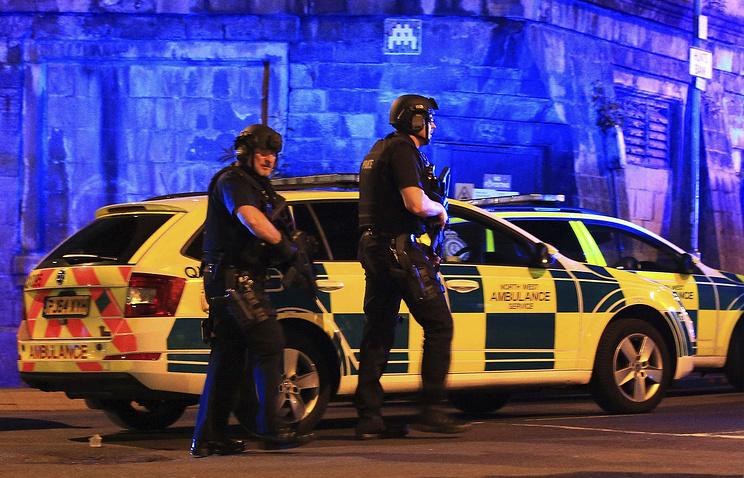 Взрыв на стадионе в Манчестере мог совершить террорист-смертник