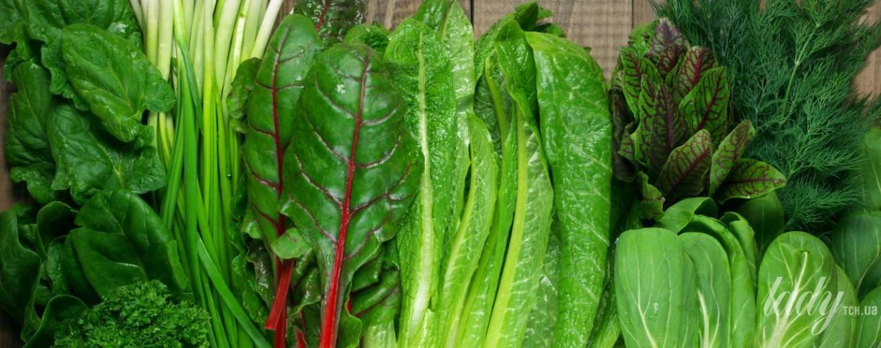 Интересные блюда с весенней зеленью