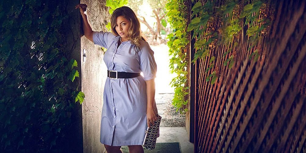 Мода для полных женщин на весну и лето 2018.