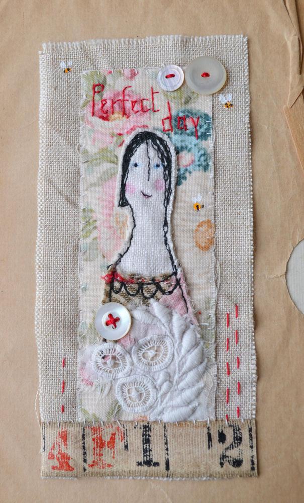 Крошечные сказки в текстиле — особенный взгляд на мир в «наивном» творчестве Hens Teeth