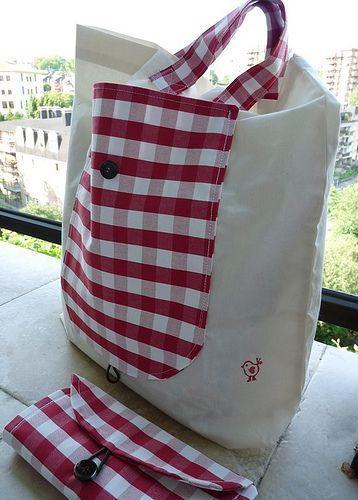 Складные сумки - шопперы (выкройки)
