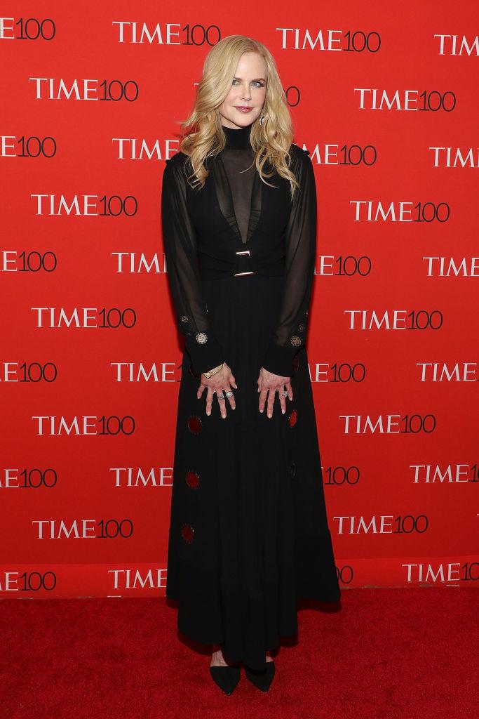 Николь Кидман в платье Proenza Schouler на вечере Time 100