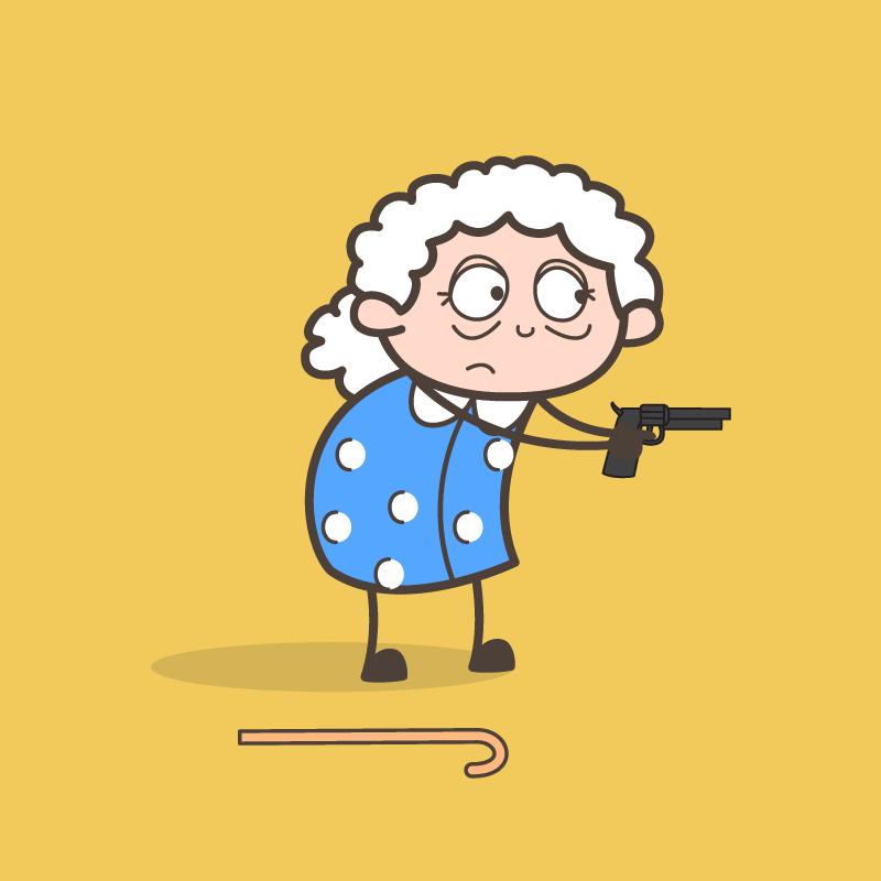 Анекдот про бабулю, сильно р…