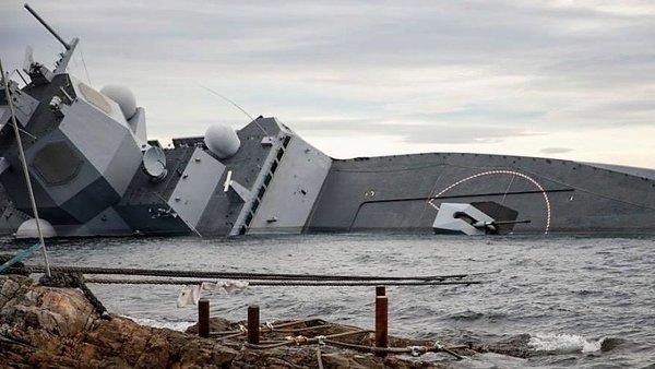Российские РЭБ утопили фрега…
