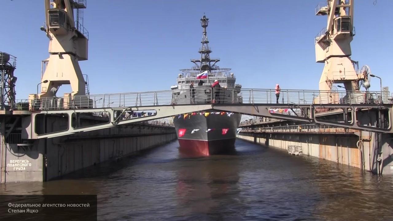 «Сокольская судоверфь» спустила на воду катер связи модифицированного проекта
