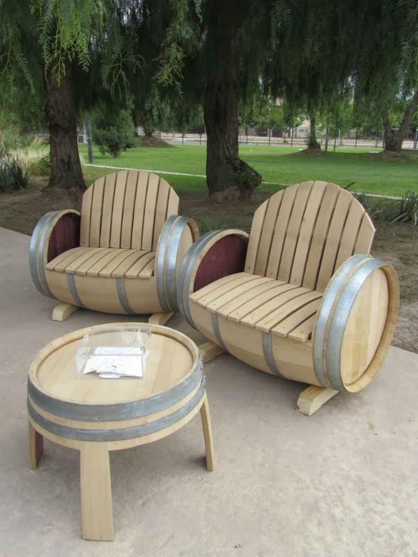 Садовая мебель для любителей вина